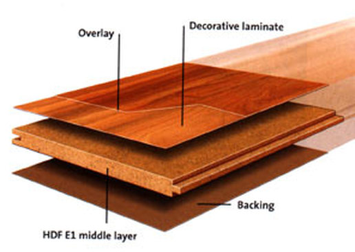 Laminate flooring has a lower resale value than hardwood.